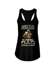 Behind Every Football Player is A Football Dad Ladies Flowy Tank thumbnail