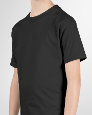 Behind Every Football Player is A Football Dad Youth T-Shirt garment-youth-tshirt-detail-left-sleeve-01