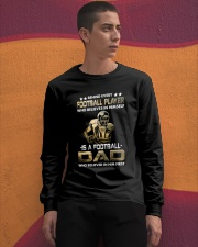 Behind Every Football Player is A Football Dad Long Sleeve Tee apparel-long-sleeve-tee-lifestyle-04