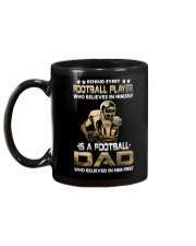 Behind Every Football Player is A Football Dad Mug back