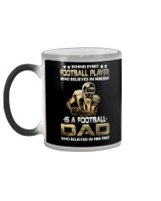 Behind Every Football Player is A Football Dad Color Changing Mug color-changing-left