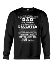 I'm A Proud Dad Freaking Awesome Daughter Crewneck Sweatshirt thumbnail