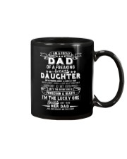 I'm A Proud Dad Freaking Awesome Daughter Mug tile