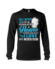 I Miss My Father in Law in Heaven Father's Day Long Sleeve Tee thumbnail