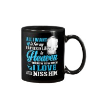I Miss My Father in Law in Heaven Father's Day Mug thumbnail