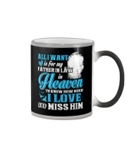 I Miss My Father in Law in Heaven Father's Day Color Changing Mug thumbnail