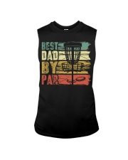Best Dad By Par Funny Disc Golf Gift For Men Dad Sleeveless Tee thumbnail