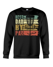 Best Dad By Par Funny Disc Golf Gift For Men Dad Crewneck Sweatshirt thumbnail