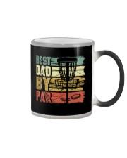 Best Dad By Par Funny Disc Golf Gift For Men Dad Color Changing Mug thumbnail