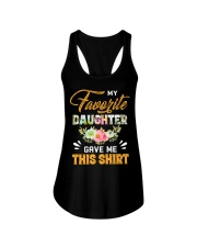 My Favorite Daughter Gave Me This Shirt Fathers Ladies Flowy Tank thumbnail
