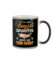 My Favorite Daughter Gave Me This Shirt Fathers Color Changing Mug thumbnail