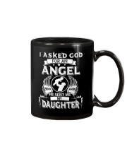 Mens I Asked God For An Angel He Sent Me  Daughter Mug thumbnail