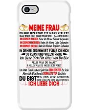 AN MEINE FRAU - ICH LIEBE DICH Phone Case thumbnail