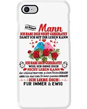 AN MEINEN MANN - FUR IMMER UND EWIG Phone Case tile