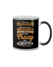 Men's I'm A Spoiled Boyfriend But Not Yours Color Changing Mug thumbnail
