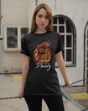 Chicken Daddy Chicken Dad Farmer Farmer Father Day Classic T-Shirt apparel-classic-tshirt-lifestyle-19