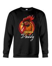 Chicken Daddy Chicken Dad Farmer Farmer Father Day Crewneck Sweatshirt thumbnail
