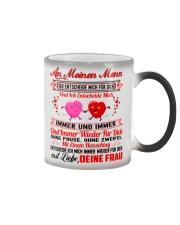 AN MEINEN MANN - DEINE FRAU Color Changing Mug color-changing-right