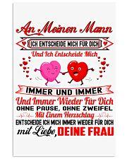 AN MEINEN MANN - DEINE FRAU 11x17 Poster thumbnail