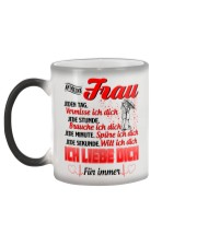 AN MEINE FRAU - ICH LIEBE DICH Color Changing Mug color-changing-left
