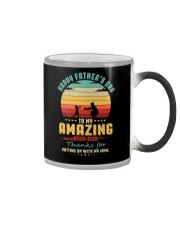 Happy Father's Day to My Amazing Step-Dad  Color Changing Mug thumbnail