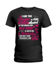 I Am The Daughter Of A King Father's DayFor Women Ladies T-Shirt thumbnail