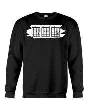 Guitar Dad Chord - Fathers Guitarist Guitar Lovers Crewneck Sweatshirt thumbnail
