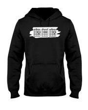 Guitar Dad Chord - Fathers Guitarist Guitar Lovers Hooded Sweatshirt thumbnail