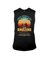 Happy Father's Day to Amazing Step-Dad Mom Sleeveless Tee thumbnail