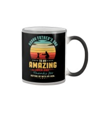 Happy Father's Day to Amazing Step-Dad Mom Color Changing Mug thumbnail