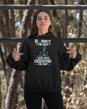 Boating Sorry For What Said While Docking The Boat Hooded Sweatshirt apparel-hooded-sweatshirt-lifestyle-05