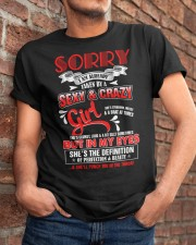 Sorry I'm Already Taken By A Sexy And Crazy Girl  Classic T-Shirt apparel-classic-tshirt-lifestyle-26