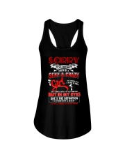 Sorry I'm Already Taken By A Sexy And Crazy Girl  Ladies Flowy Tank thumbnail