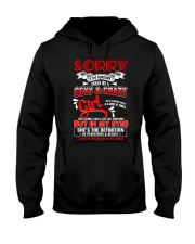 Sorry I'm Already Taken By A Sexy And Crazy Girl  Hooded Sweatshirt thumbnail
