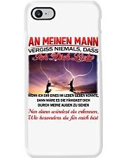 AN MEINEN MANN ICH DICH LIEBE Phone Case thumbnail
