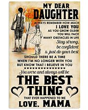 MY DEAR DAUGHTER - LOVE MAMA 11x17 Poster front