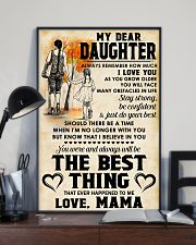 MY DEAR DAUGHTER - LOVE MAMA 11x17 Poster lifestyle-poster-2