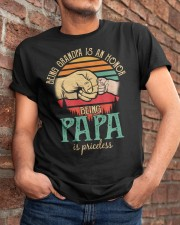 Being Grandpa s an honor being Papa is Priceless Classic T-Shirt apparel-classic-tshirt-lifestyle-26