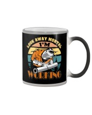 Welder Shirts Look Away Mortal I'm Working Welding Color Changing Mug thumbnail