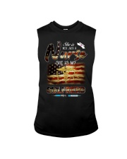 Girlfriend American Flag Independence Day  Sleeveless Tee thumbnail