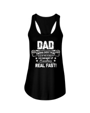 DAD Know Everything Make Up SomeThing Real Fast Ladies Flowy Tank thumbnail