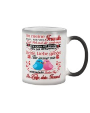 AN MEINE FREUNDIN - Valentine Color Changing Mug color-changing-right