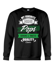 People Call Me Pops Genuine Trusted Father's Day Crewneck Sweatshirt thumbnail