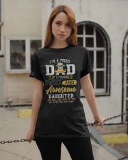 Mens Gift For Dad From Daughter- Father's Day Gift Classic T-Shirt apparel-classic-tshirt-lifestyle-19