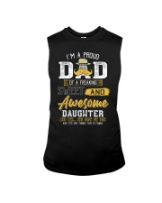 Mens Gift For Dad From Daughter- Father's Day Gift Sleeveless Tee thumbnail