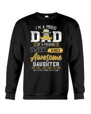 Mens Gift For Dad From Daughter- Father's Day Gift Crewneck Sweatshirt thumbnail