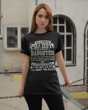 Proud Daddy of a Pretty Daughter Father's Day Classic T-Shirt apparel-classic-tshirt-lifestyle-19