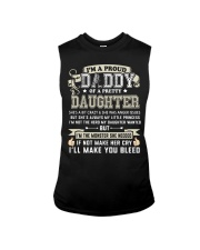 Proud Daddy of a Pretty Daughter Father's Day Sleeveless Tee thumbnail