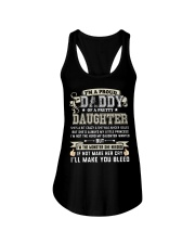 Proud Daddy of a Pretty Daughter Father's Day Ladies Flowy Tank thumbnail