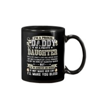 Proud Daddy of a Pretty Daughter Father's Day Mug thumbnail